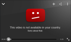 This video is not available in your country.