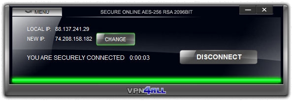 VPN4All Interface